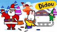 Didou dessine-moi Noël ❅ Didou et l'assistant du Père Noël ☃ Dessin anim...