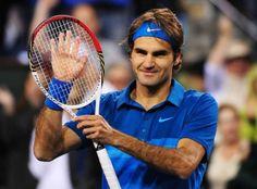 Federer tras ganar el Indian Wells de este año, siguiente parada, Miami, último esfuerzo hasta la temporada de arcilla. Come on!