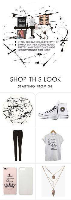 """you never believe me when i say i love you maybe you're telling me you hate me"" by zoey12212 on Polyvore featuring Lisa Perry, Converse and Acne Studios"