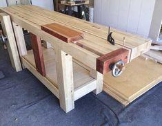 Split Top Roubo workbench