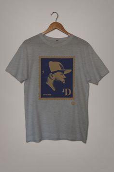 J-DIlla 'JD' Stamp (Limited Edition) T-Shirt - Madina #JDilla #HipHop #Stamp