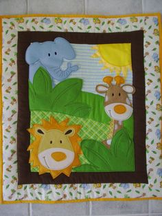 Quilts make such lovely baby shower gifts!  Request a custom order!