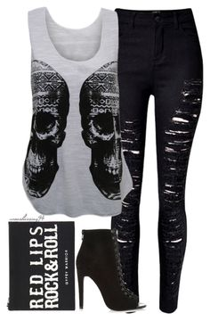 """""""Rock 'n' Roll, Baby"""" by avonsblessing94 ❤ liked on Polyvore featuring WearAll, Forever 21, River Island, women's clothing, women, female, woman, misses and juniors"""