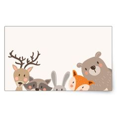 Woodland baby shower favor tag Sticker Animals Fox - My CMS Baby Shower Favors, Baby Shower Parties, Baby Shower Themes, Baby Shower Decorations, Baby Shower Gifts, Shower Cake, Shower Ideas, Shower Party, Baby Favors