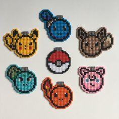 8-Bit Pokemon Christmas Ornament or Magnet by TheWorldofNerdart