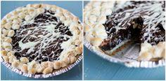 Grasshopper Pie via @Cassie | Bake Your Day