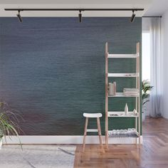Home Decoration Interior Blue Ocean Waves Wall Mural.Home Decoration Interior Blue Ocean Waves Wall Mural Beach Wall Murals, Wall Art, Ocean Mural, 3d Wall, Removable Wall Murals, Summer Waves, Summer Sunset, Pink Sunset, Fabric Panels