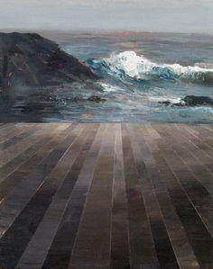 Platform original painting by jeremymiranda on Etsy,