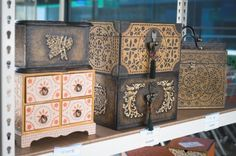 한지공예 Chinese Style, Buffet, Decorative Boxes, Furniture, Home Decor, Decoration Home, Room Decor, Home Furnishings, Home Interior Design