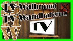 TV Illusion Fernseh Attrappe weiß mit Wandhalterung Dummy Fernsehattrappe