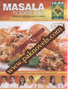 Pakistani Urdu Novels: Download Free Cooking Masala TV Food Mag February 2015
