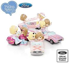 Ford Precious Moments Figurine Collection: On The Road To A Cure