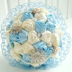2015 New fashion Hot sale high-grade purple phineston wedding bouquet white pearl artificial wedding bouquet decorative wedding