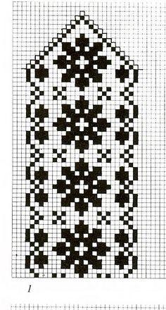 korntrø-rosa fair isle knit chart