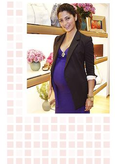 pregnancy and blazers = awesome