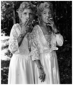 they're rockin some killer hardware.. I just want to know more about them....   photo :Mary Ellen Mark.