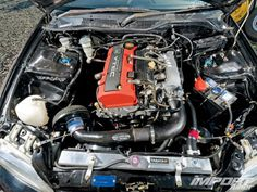 S2K engine in a 93 Civic hatch to make it into a real wheel drive. Yes please!!!