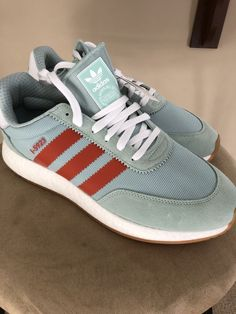 2ac62081a75d adidas i-5923 Ash Green Size 10.5  fashion  clothing  shoes  accessories