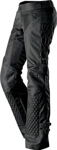 Sexy&Goddess Slim piece strapless black leather pants, motorcycle girl ...