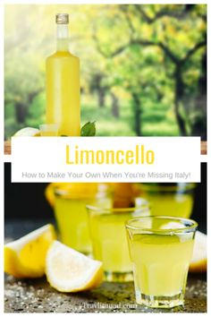 Italian Limoncello Recipe: How To Make the Authentic Kind Your Foodie Friends Will Love! Authentic Limoncello Recipe, Italian Limoncello Recipe, Making Limoncello, Homemade Limoncello, How To Make Lemoncello, Lemon Cello Recipe, Dried Lemon, Summertime Drinks, Lemon Recipes