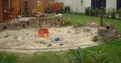Sandhaufen für Kinder im Garten, aber wie? - Seite 1 - Gartengestaltung - Mein schöner Garten online