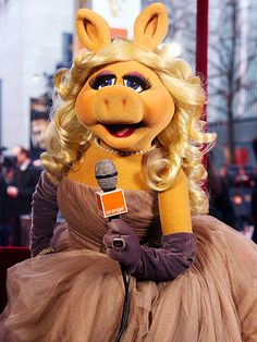 The divine Miss Piggy