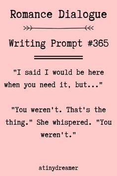 120 Romance Dialogue Story Writing Prompts #334-453