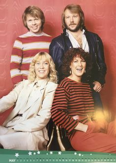 ABBA Fans Blog: May 2016 Abba Calendar Pictures #Abba #Agnetha #Frida http://abbafansblog.blogspot.co.uk/2016/05/may-2016-abba-calendar-pictures.html