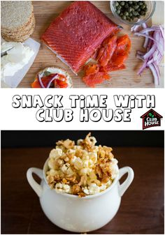 Snack time with Club House