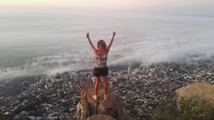 Fitness is key  #hike #view #mountain #lionshead #SouthAfrica #CapeTown