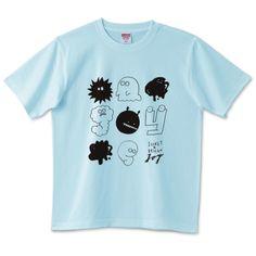 Graffiti poping black   デザインTシャツ通販 T-SHIRTS TRINITY(Tシャツトリニティ)