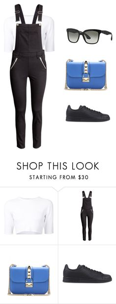 """I know you don't mind"" by acidsugar ❤ liked on Polyvore featuring Dion Lee, H&M, Valentino, adidas Originals and Miu Miu"