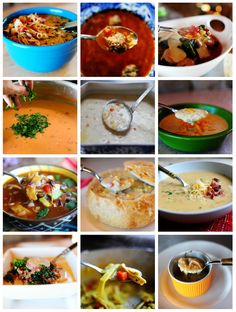Soups at The Pioneer Woman | http://thepioneerwoman.com/cooking/2013/10/happy-soup-season/