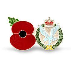 Poppy Shop Army Service Poppy Pins | Regimental Pins | 100% of profits goes to The Royal British Legion
