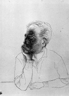 Tapies, Antoni (1923-2012) - 1946 Self-Portrait