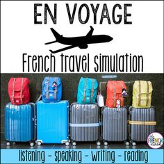 French Travel Simulation En Voyage by The French Nook Study French, Core French, Learn French, Ap French, French Kids, French Stuff, French Teacher, Teaching French, Wordpress Theme