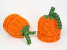 Baby Pumpkin Hat Infant Beanie Orange Squash Cap Size 3 to 6 Months Scorpio Child Autumn Accessory Halloween Costume Whimsical Photo Prop on Etsy, $16.00