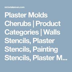 Plaster Molds Cherubs | Product Categories | Walls Stencils, Plaster Stencils, Painting Stencils, Plaster Molds
