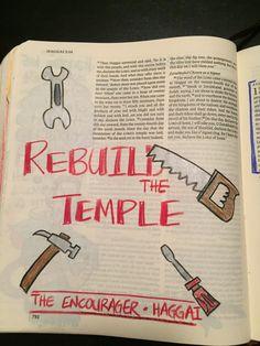 Haggai 2 Lamentations, Psalms, Bible Art, Bible Verses, Biblical Symbols, 2 Samuel, 1 Chronicles, Illustrated Faith, Bible Journal