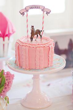 Elegant Pink Pony Birthday Party