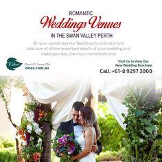 Romantic Weddings Venues in the Swan Valley Perth by vinescomau
