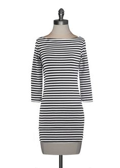 Essential Stripes Stretch Tunic