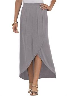 Tulip Skirt | Plus Size Over 150 Items at 50% - 60% OFF | Jessica London