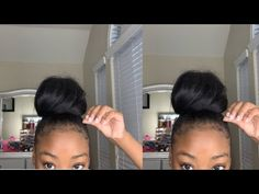 # Bun Hairstyles with weave – Bun Hairstyles Straight Weave Hairstyles, Braided Bun Hairstyles, Braided Hairstyles, Simple Hairstyles, Straight Hair, High Weave Ponytail, Weave Bun, Medium Hair Styles, Curly Hair Styles