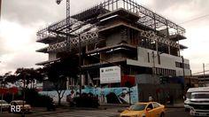 avance construcción Ágora Bogotá: Centro de Convenciones 2017