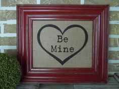 Valentines  Wedding  Anniversary  Be Mine  by SimplyFrenchMarket, $18.00