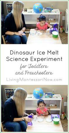 Dinosaur Ice Melt Sc
