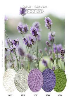 Crochet ideas inspiration color combinations ideas for 2019 Yarn Color Combinations, Colour Schemes, Color Patterns, Colour Pallette, Color Palate, Lavender Color Scheme, Color Blending, Color Mixing, Color Harmony