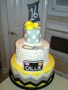 16th birthday cake...