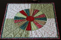 MarveLes MODERN CHRISTMAS DRESDEN Plate  Table Runner Red Green Turquoise Gold Plaid on Etsy, $184.95